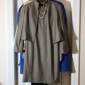 Classic 2 piece Calvin K Dress suit with necklace